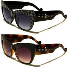 Nuevas gafas de sol negras Ladies Girls Ojo De Gato Grande Retro Vintage Gran Diseñador Grandes