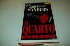 LAWRENCE SANDERS:IL QUARTO PECCATO MORTALE.SPERLING&KUPFER PANDORA 373 1988 1&OK