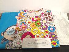 VANS x Takashi Murakami TEE Floral/ Skull/ Blue Sz S M L XL T-Shirt Deck 2015