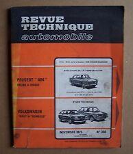 REVUE TECHNIQUE AUTO 350 - VOLKSWAGEN GOLF ET SCIROCCO -  1975