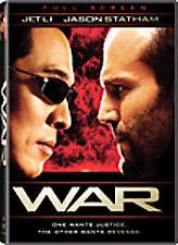 ***War (DVD, 2008) Jet Li, Jason Statham, Nadine Velazquez