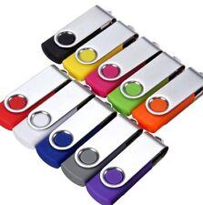 8GB 16GB 32GB 64GB USB SWIVEL MEMORY STICK FLASH PEN  DRIVE