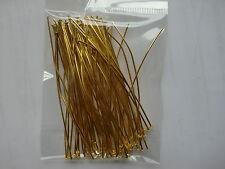 200pcs headpins GOLD TONE per gioielli compiendo in defferent Dimensioni Scegliere