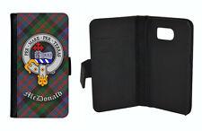 McDonald Clan Flip Case for Galaxy S3/S4/S5/S6/S7/S8 + Note Edge Mini -Scottish