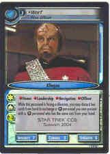 Star Trek CCG 2E FOIL 0P24 Worf, First Officer M/NM
