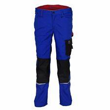Terrax tenue de travail Homme Pantalon à pinces, Royal / Rouge