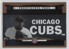 2005 Playoff Prestige Prestigious Pros Bronze PP-65 Sammy Sosa Chicago Cubs Card