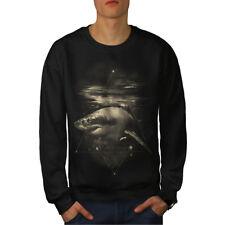 Shark Great White Men Sweatshirt NEW | Wellcoda