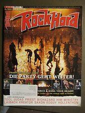 ROCK HARD METAL MAGAZINE 171 - 2001 - FESTIVAL SOMMER 2001 TOOL JUDAS BIOHAZARD