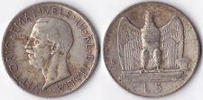 VITT. EMAN. III 5 LIRE 1926 - RARA -
