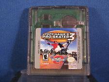 Nintendo Game Boy Color Tony Hawk's Pro Skater 3