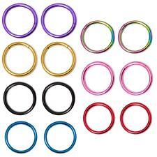Pair of I.P. Coated 16G Seamless Segment Ring
