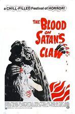 THE BLOOD ON SATAN'S CLAW B-MOVIE REPRODUCTION ART PRINT A4 A3 A2 A1