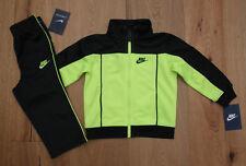 Nike Baby Boy 2 Piece Jogging Set ~ Tracksuit ~ Black & Volt  ~