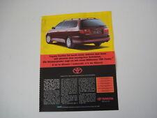 advertising Pubblicità 1995 TOYOTA CARINA E SW