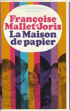 Livre la maison de papier Françoise Mallet-Joris book