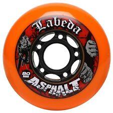 Labeda Asphalt Wheels for Inline Skates in Multiple Sizes