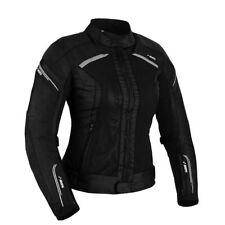 Damen Motorrad Jacke Motorradjacke Textil Schwarz Wasserdicht Motorrad Jacke