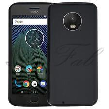 For Motorola Moto G6 New Genuine Black Gel Phone Case Cover Plus Tempered Glass