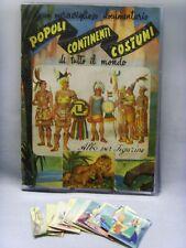 POPOLI CONTINENTI COSTUMI-BEA 1950-FIGURINA a scelta n.1/255-STICKER at...-REC.