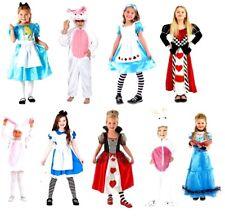 Enfant Alice au pays des merveilles caractères Unisexe Costume Robe fantaisie livre semaine jour