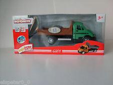 Transporter green,Majoteams M Builders ,Majorette Model