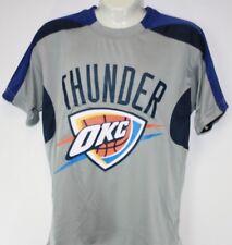 NEW Youth Kid Boys MAJESTIC NBA OKC Oklahoma Thunder Synthetic Basketball Shirt