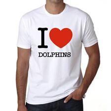 DOLPHINS, maglietta uomo, animali magliette, maglietta regalo 00064