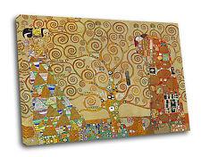 GUSTAV KLIMT - THE TREE OF LIFE  PICTURE ON FRAMED BOX-CANVAS Print