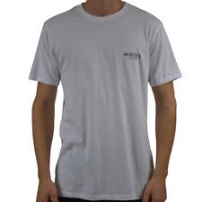 Men's Barney Cools Motel Cools Short Sleeve Tee Shirt Top White