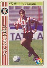 N°289 JUANMA # CD.LOGRONES OFFICIAL TRADING CARD MUDICROMO LIGA 1995