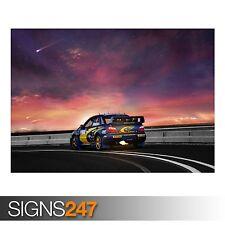 SUBARU ROAD (AA209) CAR POSTER - Photo Picture Poster Print Art A0 A1 A2 A3 A4