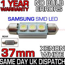 37mm 3 Samsung Smd Led 239 272 C5w Canbus No Error Blanco número Placa Bombilla de luz