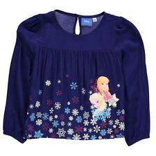 DISNEY blouse top t-shirt LA REINE DES NEIGES  2-3 3-4 7-8 9-10 11-12 ou 13 ans