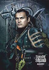 Suicide Squad Film Posters  - Slip Knot - Option 1 - A3 & A4