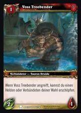WoW - 4x Voss Treebender - Helden von Azeroth - mint
