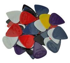 Alice 100pcs 0.58-1.5mm Glossy Anti-Skid Nylon Guitar Picks Plectrums Jazz Bass