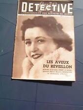 Détective 1950 OUISTREHAM ANDELYS RAY SUGAR ROBINSON