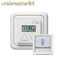 Duomatic 50 BZ Rolladen Zeitschaltuhr + Busch-Jäger Zwischenrahmen für Rollladen