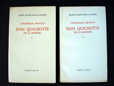 L'Ingenieux Hidalgo Don Quichotte de la Manche, Vol. I & II (uncut) Inv145