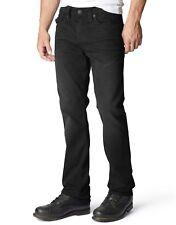 True Religion Jeans Geno w/Flap Relaxed Slim Stretch Black Dark Metal MAXE08NCR0