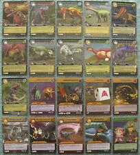Dinosaur King TCG Choose 1 Alpha Dinosaurs Attack Silver Rare Card from List
