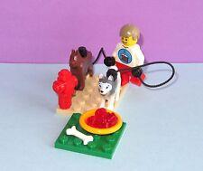 Husky & German Shepherd Dog Pet +- Birthday Minifiure MOC - MADE OF LEGO BRICKS