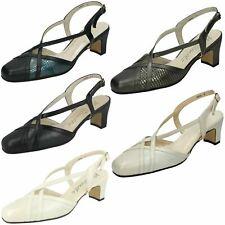 Ladies Nil Simile Narrow Fitting Formal Shoes *Bandana*