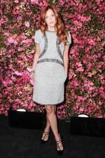 CHANEL 13P 2013 Black White Short Sleeve Fantasy Tweed Silk Trim Dress $5380
