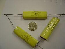10uf 120V 10% - Sprague 439P (Lot of 5) Poly Film Capacitor - Axial - 120VAC  AC