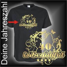 Wunschtext Dein Jahr 30 40 50 is beautiful Geburtstags Fun T-Shirt (FSG022)