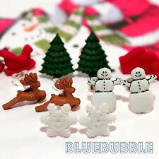 Funky Mini Navidad pendientes muchos estilos Lindo Kitsch Sweet festivo Merry pequeñas