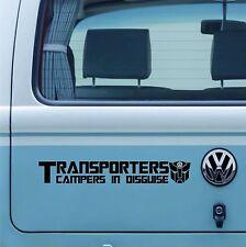 VW Transporter Camper T5  Vinyl Sticker/Decal Pro Qlty Vinyl VW Camper