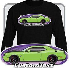 Custom Art long sleeve shirt 2008-16 Dodge SRT-8 R/T SE Challenger Hellcat Hemi